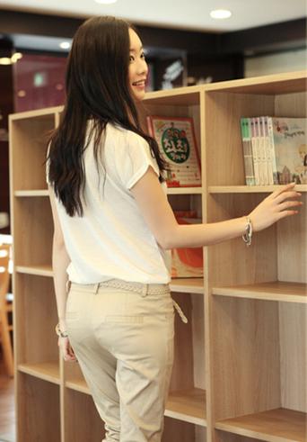 Kiểu quần đẹp và mát cho nữ công sở - 6