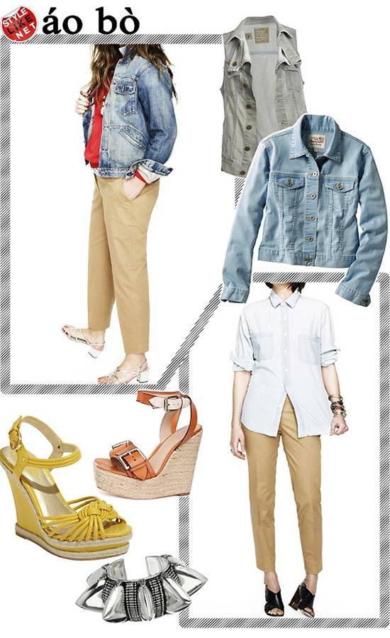 Kiểu quần đẹp và mát cho nữ công sở - 17