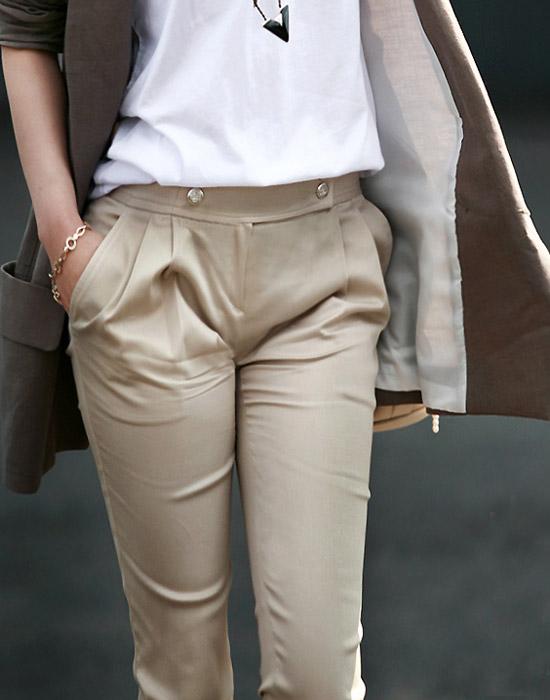 Kiểu quần đẹp và mát cho nữ công sở - 19