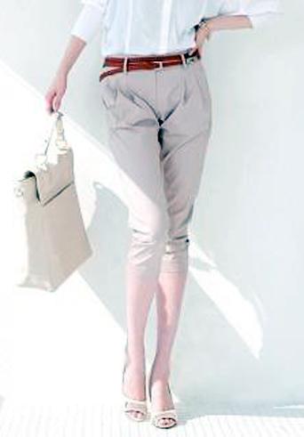 Kiểu quần đẹp và mát cho nữ công sở - 7