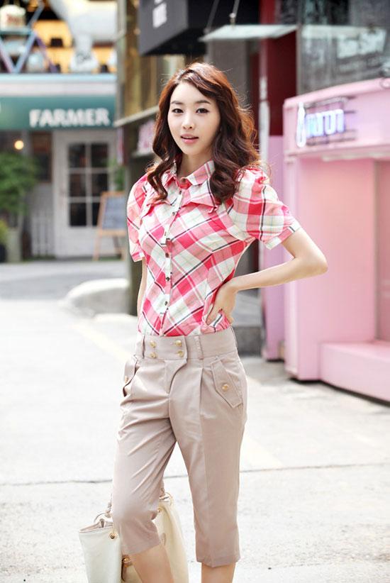 Kiểu quần đẹp và mát cho nữ công sở - 12
