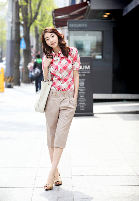 Kiểu quần đẹp và mát cho nữ công sở - 13