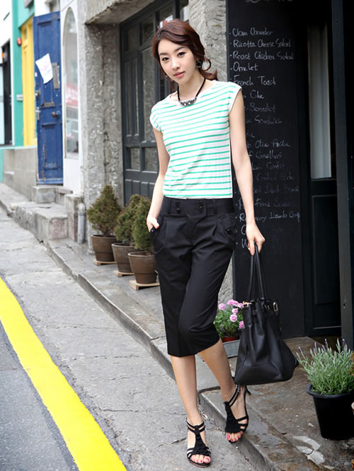 Kiểu quần đẹp và mát cho nữ công sở - 15