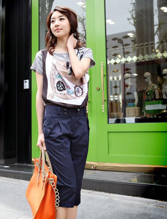 Kiểu quần đẹp và mát cho nữ công sở - 16
