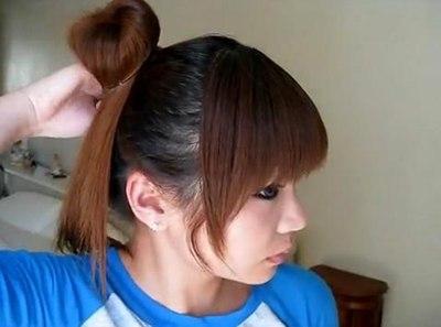Tóc búi điệu kiểu Hàn Quốc cho ngày nắng gắt - 5