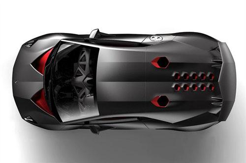 Lamborghini Sesto Elemento: siêu xe đắt nhất thế giới - 3