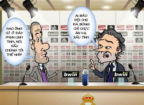 Siêu phẩm video 1: Mourinho và Pep giải quyết ân oán - 2