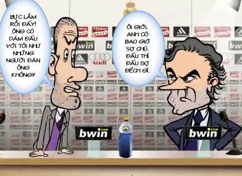Siêu phẩm video 1: Mourinho và Pep giải quyết ân oán - 3