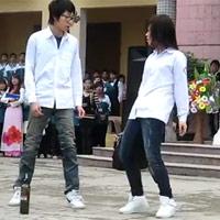 Ngỡ ngàng với màn nhảy hip hop của nữ sinh Nam Định