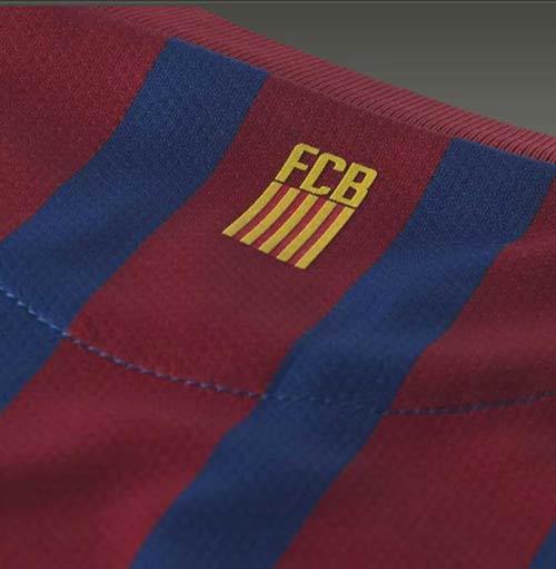 Lộ diện áo đấu của Barca mùa tới - 3