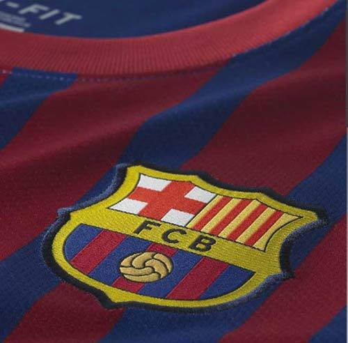 Lộ diện áo đấu của Barca mùa tới - 4