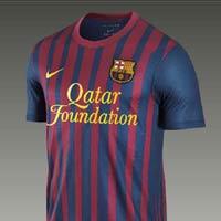 Lộ diện áo đấu của Barca mùa tới