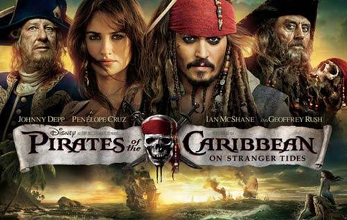 """""""Cướp biển Caribe 4"""": Xem phim như thật - 1"""