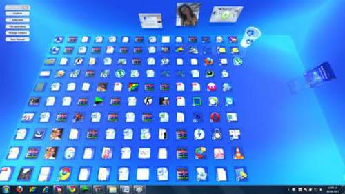 Tạo hiệu ứng 3D độc đáo trên desktop - 4