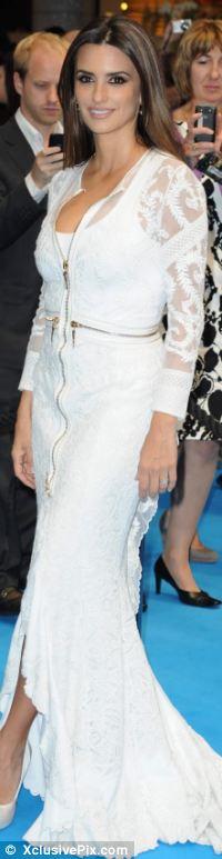 Ngắm sao diện váy ren trắng tao nhã - 9