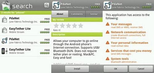 Biến điện thoại Android thành modem để kết nối Internet trên PC - 1