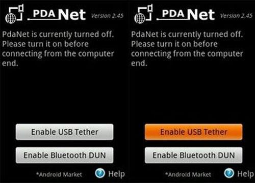 Biến điện thoại Android thành modem để kết nối Internet trên PC - 2