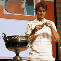 Bốc thăm Roland Garros: Nadal dễ thở (Điểm tin tennis sáng 21/5)
