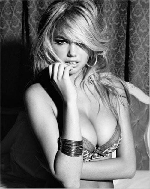 "Kate Upton ""nung nóng"" nội y Guess - 13"