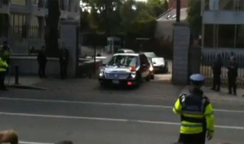Cadillac của Tổng thống Obama gặp nạn - 1