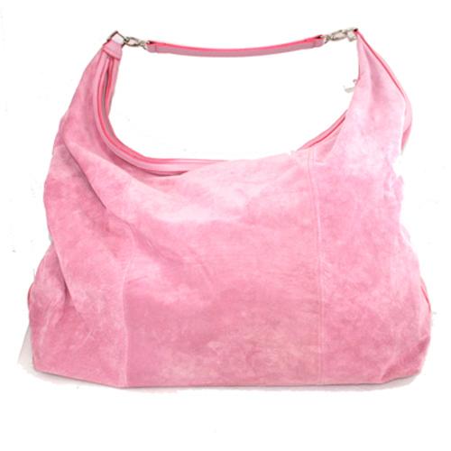 Розовые сумки.