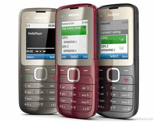 Nokia X1-01 và C2-00 2 SIM giá mềm - 2