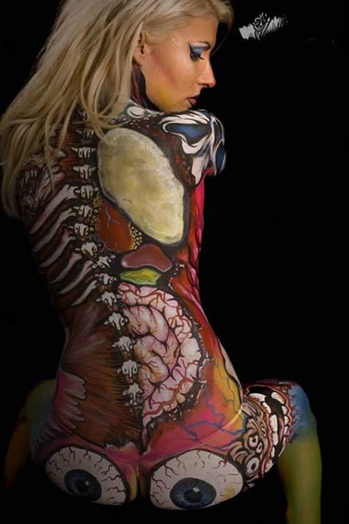 12 mẫu body painting trang phục sexy nhất - 11