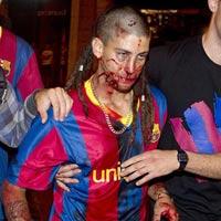 Bạo lực đẫm máu sau chiến thắng của Barca