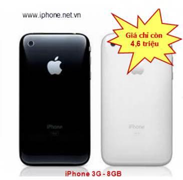 IPhone 3G 8GB giá chỉ còn 4,3 triệu đồng - 3