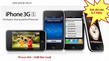 IPhone 3G 8GB giá chỉ còn 4,3 triệu đồng - 5