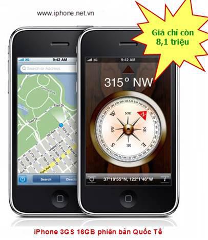 IPhone 3G 8GB giá chỉ còn 4,3 triệu đồng - 6