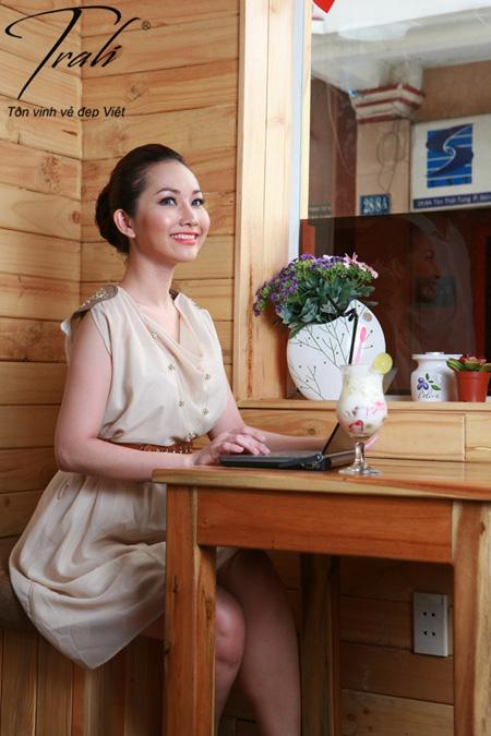 Kim Hiền xinh tươi với thời trang Trali - 3