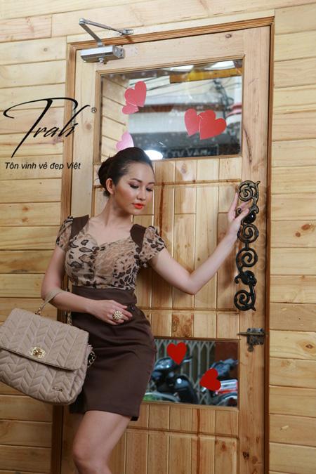 Kim Hiền xinh tươi với thời trang Trali - 5