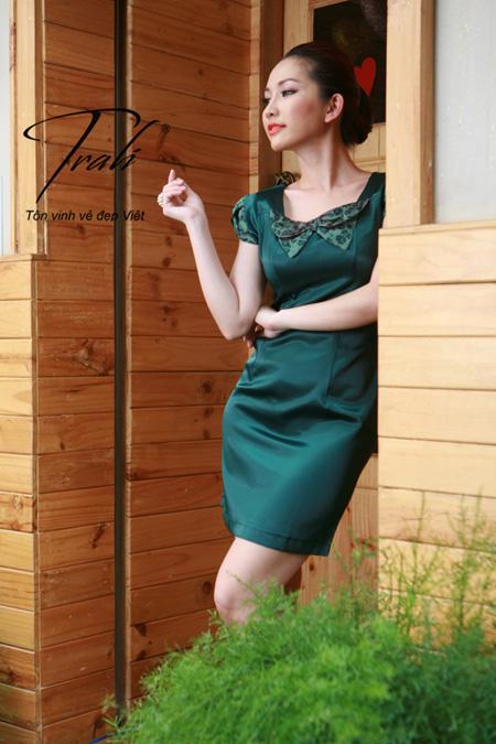 Kim Hiền xinh tươi với thời trang Trali - 6