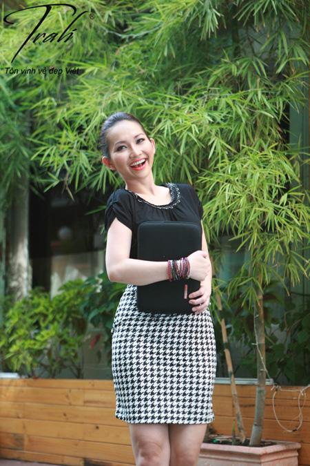 Kim Hiền xinh tươi với thời trang Trali - 7