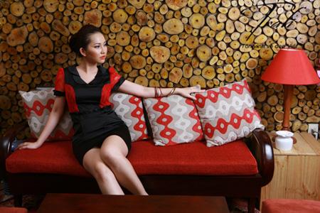 Kim Hiền xinh tươi với thời trang Trali - 8
