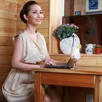 Kim Hiền xinh tươi với thời trang Trali