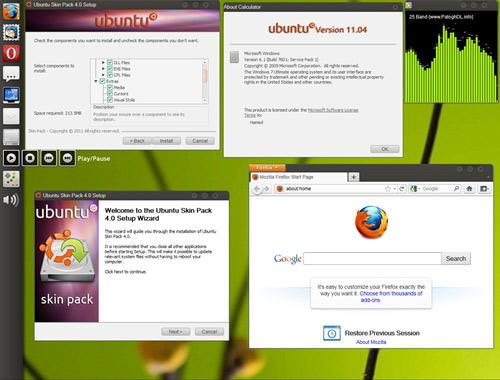 3 giao diện cực đỉnh cho Windows 7 - 8