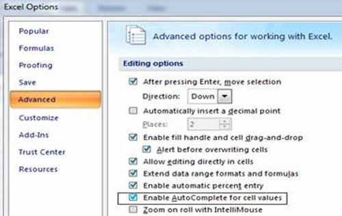 Tránh lỗi nhập dữ liệu trong Excel - 3