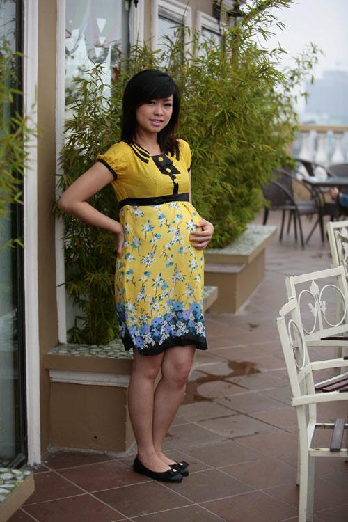Đầm bầu cho mùa hè dịu mát - 2