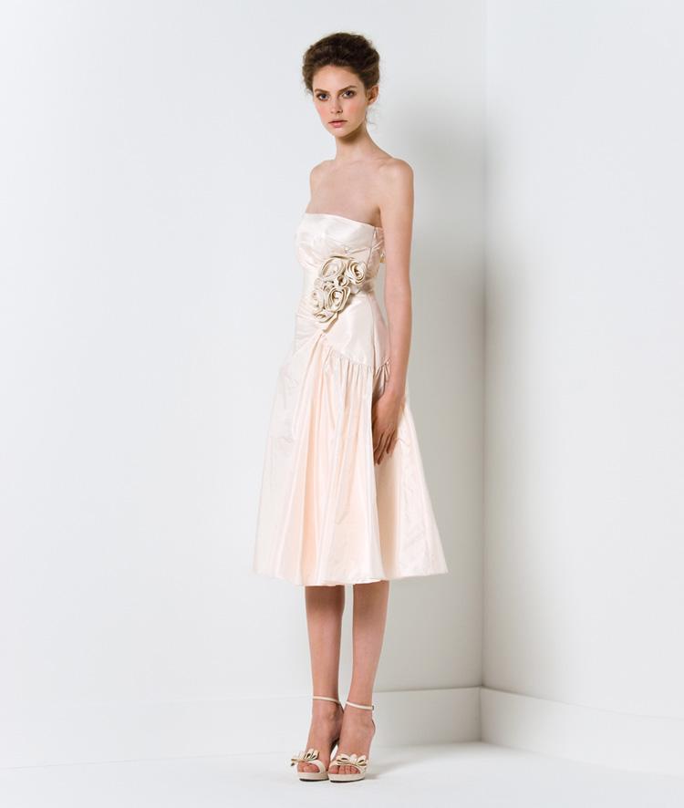 Chọn váy cưới cho cô dâu nhỏ nhắn - 1