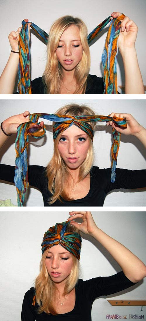 Làm mũ Turban sành điệu mà cực dễ - 15