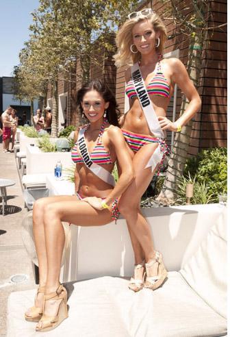 Đại tiệc bikini sexy của Hoa hậu Mỹ 2011 - 10
