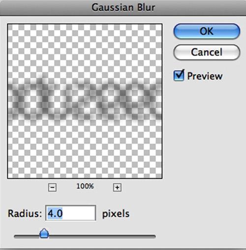 Tạo kiểu chữ phát sáng với Photoshop - 4