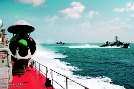 Hải quân Việt Nam luyện tập bắn đạn thật - 11