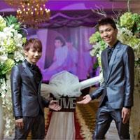 Xôn xao đám cưới đồng tính nam