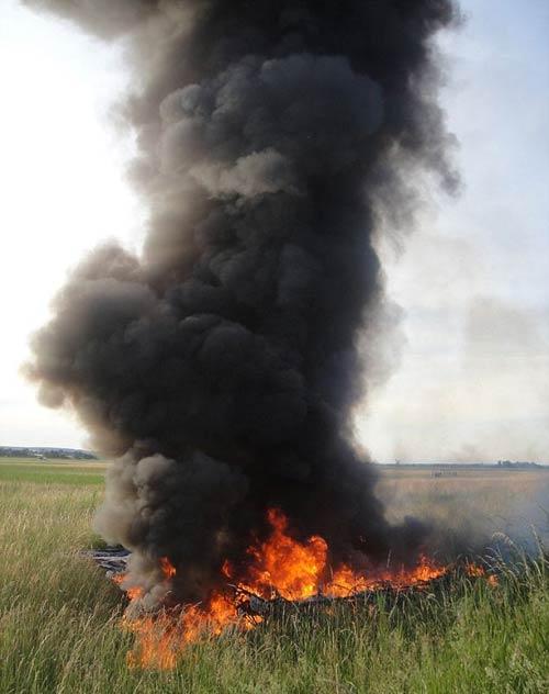 Video: Khinh khí cầu bốc cháy giữa trời - 3