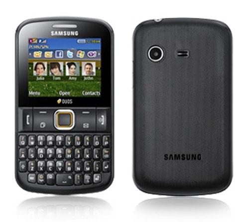 Samsung Ch@t 222 hai SIM lộ mặt - 1