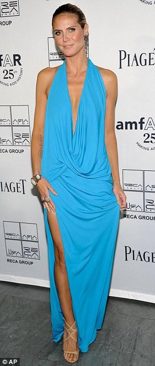 """Heidi Klum hằn... """"vết"""" ở ngực - 5"""