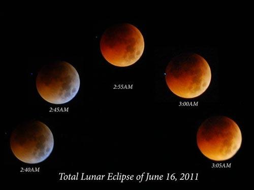 """Chiêm ngưỡng """"Mặt trăng máu"""" ở VN - 8"""